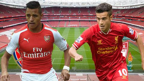 Đội hình dự kiến trận Arsenal gặp Liverpool