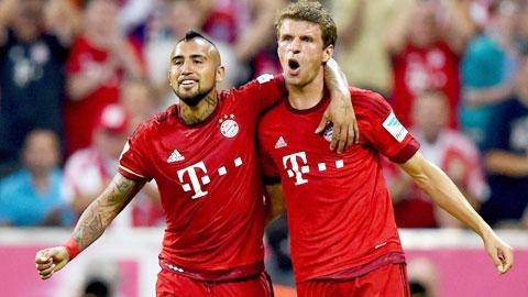Hoffenheim vs Bayern: Trận đấu của Kuranyi và Vidal