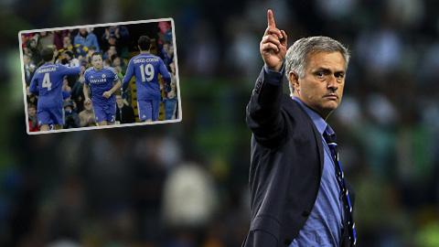 Mourinho thất vọng với tất cả cầu thủ Chelsea và cả chính mình