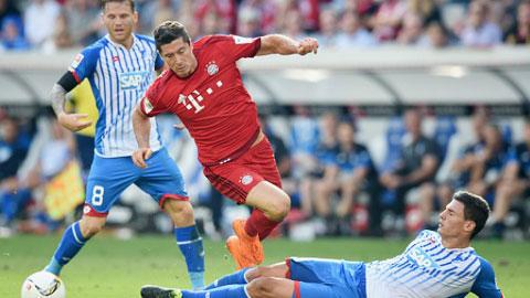 Hoffenheim 1-2 Bayern: 'Hùm xám' thoát hiểm khó tin