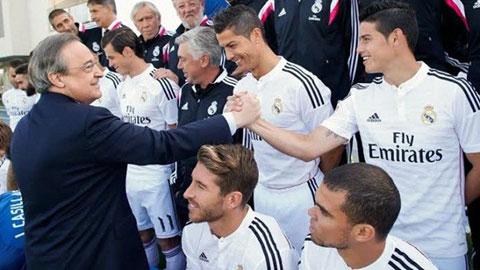 Florentino Perez đã 'nướng' 151 triệu euro ở nhiệm kỳ 2 tại Real