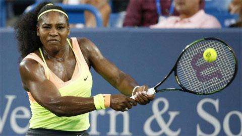 Serena Williams lần thứ 3 liên tiếp vào chung kết Cincinnati