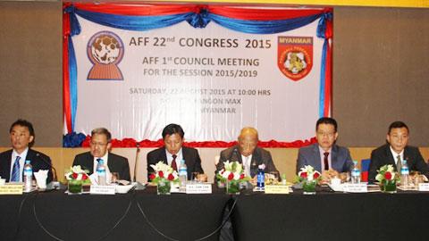 Ông Trần Quốc Tuấn trúng cử Phó Chủ tịch AFF