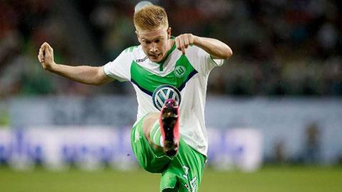 Wolfsburg khởi đầu kém ấn tượng: De Bruyne là… rào cản