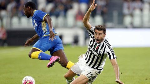 Juventus thua sốc trước Udinese trận khai màn Serie A