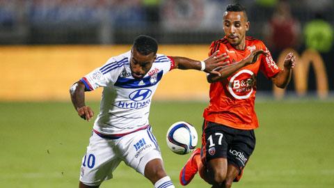 Lyon thua Rennes 1-2 trên sân nhà: Lacazette đâu rồi?