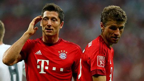 Hàng công Bayern: Cuộc đua giữa Mueller & Lewandowski