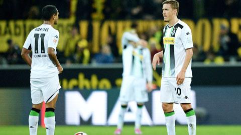 Wolfsburg và M'gladbach vẫn ngủ quên trên chiến thắng