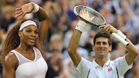 Djokovic và Serena Williams đứng đầu top hạt giống tại US Open