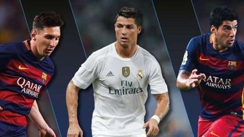 Messi, Suarez và Ronaldo, ai hay nhất châu Âu?
