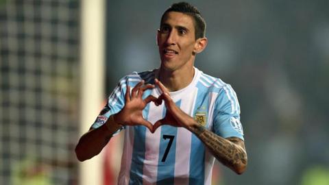 ĐT Argentina triệu tập: Di Maria, Pastore bị cho ra rìa