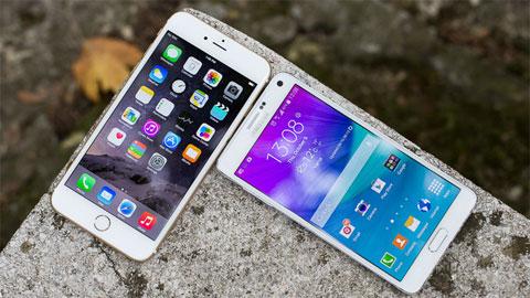 8 tính năng vượt trội của Galaxy Note5 so với iPhone 6 Plus