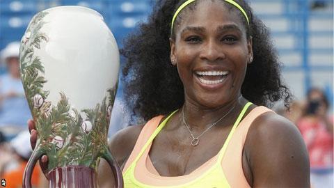Serena Williams khát khao chinh phục những kỷ lục mới
