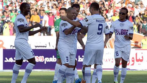 Figo, Carlos tái xuất sân cỏ giúp ĐT Ngôi sao thế giới đánh bại ĐT Ngôi sao Iran