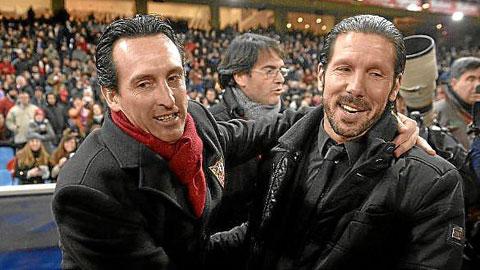 Unai Emery vs Diego Simeone: Cuộc đấu trí của hai tướng trẻ