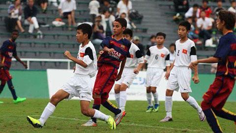Ghi bàn vào lưới U12 Barcelona, U12 Viettel xếp hạng 4 giải trẻ tại Nhật Bản