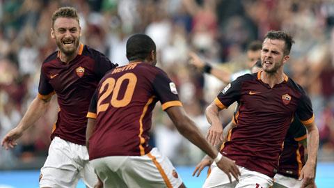 Juventus vẫn chưa có điểm khi lại thua Roma 1-2