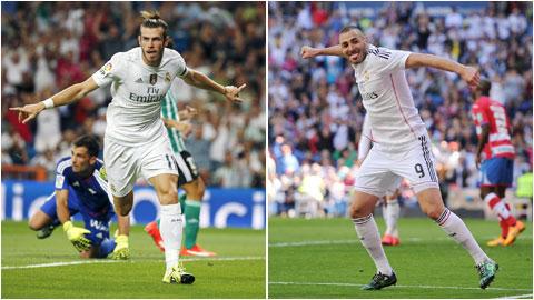Real Madrid đè bẹp Betis 5-0: B-B-C không trọn niềm vui