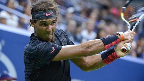 Nadal thắng nhọc trong ngày đầu ra quân tại US Open