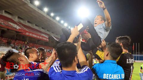 Hành trình đăng quang V.League 2015 của Becamex Bình Dương