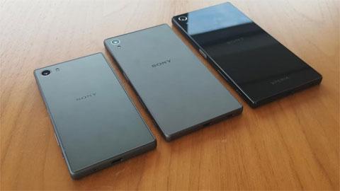 Cận cảnh bộ ba Xperia Z5 trước khi ra mắt