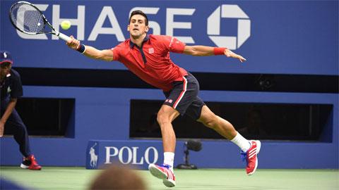 Djokovic dễ dàng đi tiếp vào vòng 3 US Open