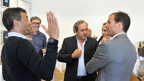 Mourinho, Van Gaal, Guardiola không dự hội nghị HLV hàng đầu UEFA