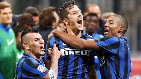 Jovetic tỏa sáng trong màu áo Inter: Người duy trì hy vọng