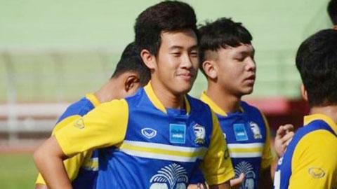 """U19 Thái Lan trông vào """"thần đồng"""" Worachit"""