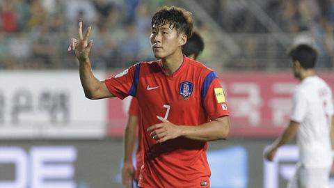 Vòng loại World Cup 2018 khu vực châu Á: Heung-Min Son lập hat-trick vào lưới Lào