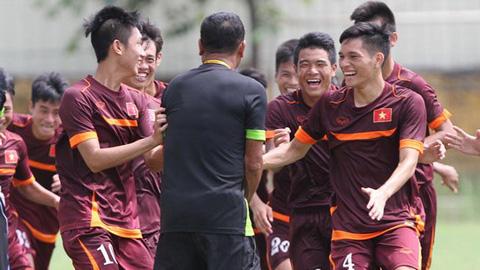 Chuẩn bị vòng loại U19 châu Á năm 2016, đội U19 Việt Nam vẫn tập huấn tại chỗ