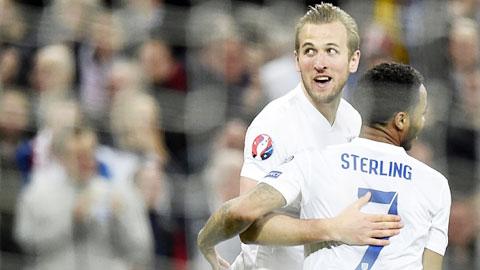 Hàng công ĐT Anh: Chờ Kane giải cơn khát bàn thắng