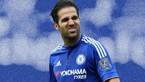 Chelsea thiếu phương án dự phòng cho Fabregas