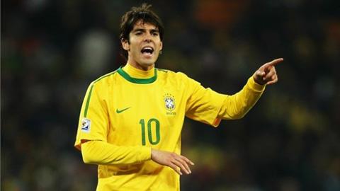 Đội hình dự kiến của ĐT Brazil trận gặp Costa Rica: Cơ hội cuối cho Kaka