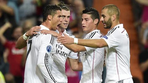 Real Madrid sở hữu đội hình đắt nhất hành tinh