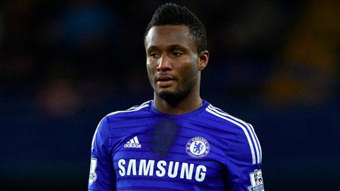 Chelsea cho Besiktas mượn John Obi Mikel vào tháng Giêng