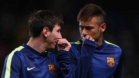 Neymar muốn lương cao thứ nhì ở Barca