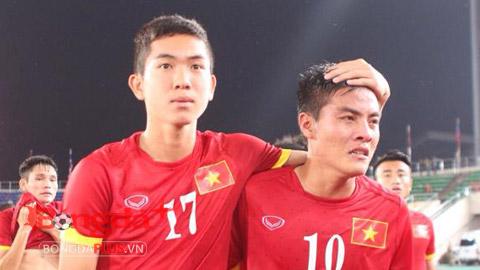 Trọng Hóa và các đồng đội quyết giành vé dự VCK U19 châu Á 2016