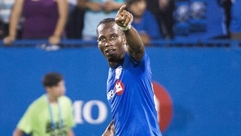 Voi rừng Drogba lập hat-trick trong trận ra mắt tại MLS