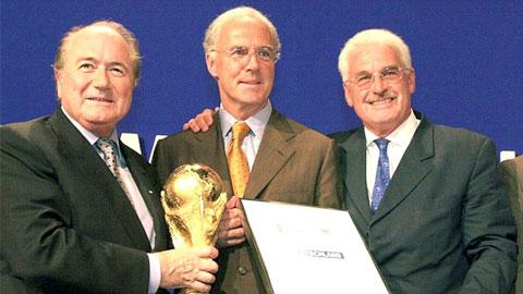 Tiết lộ sốc về scandal mua quyền tổ chức World Cup 2006 của Đức
