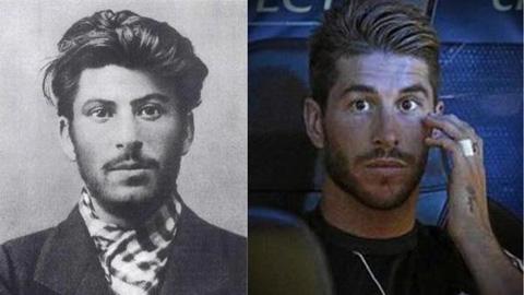 5 ngôi sao bóng đá có gương mặt giống nhân vật lịch sử