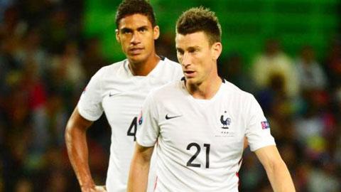 ĐT Pháp tìm được cặp trung vệ cho VCK EURO 2016