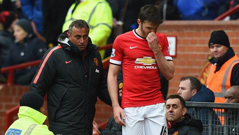 M.U có nguy cơ mất Carrick cho trận gặp Liverpool