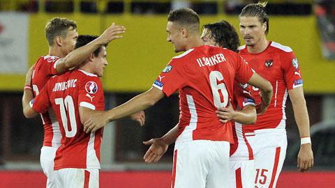 Cục diện bảng C, G & F tại vòng loại EURO 2016: Áo sắp hoàn thành mục tiêu, Nga có nhiều hy vọng
