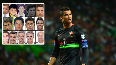 Ronaldo tự đăng ảnh chế về mình lên mạng xã hội