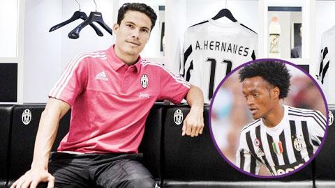Juventus thêm đa dạng với Hernanes & Cuadrado