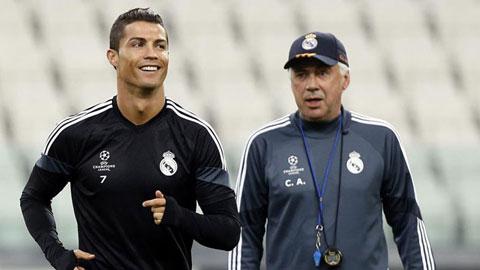 Ancelotti đặt cược Ronaldo sẽ thắng Messi trong cuộc đua Pichichi