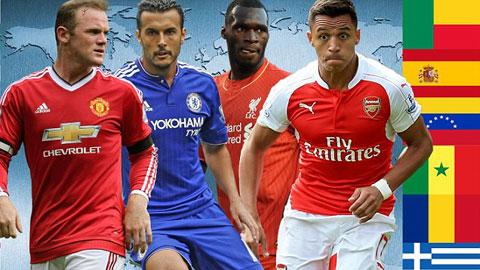 Ngoại hạng Anh đang dần biến thành giải đấu đa quốc gia