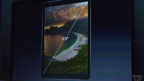 iPad Pro màn hình 12.9-inch, mỏng 6.9mm trình làng