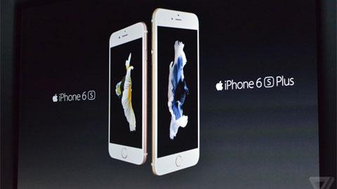 iPhone 6s và iPhone 6s Plus ra mắt, nổi bật với 3D Touch và camera 12MP